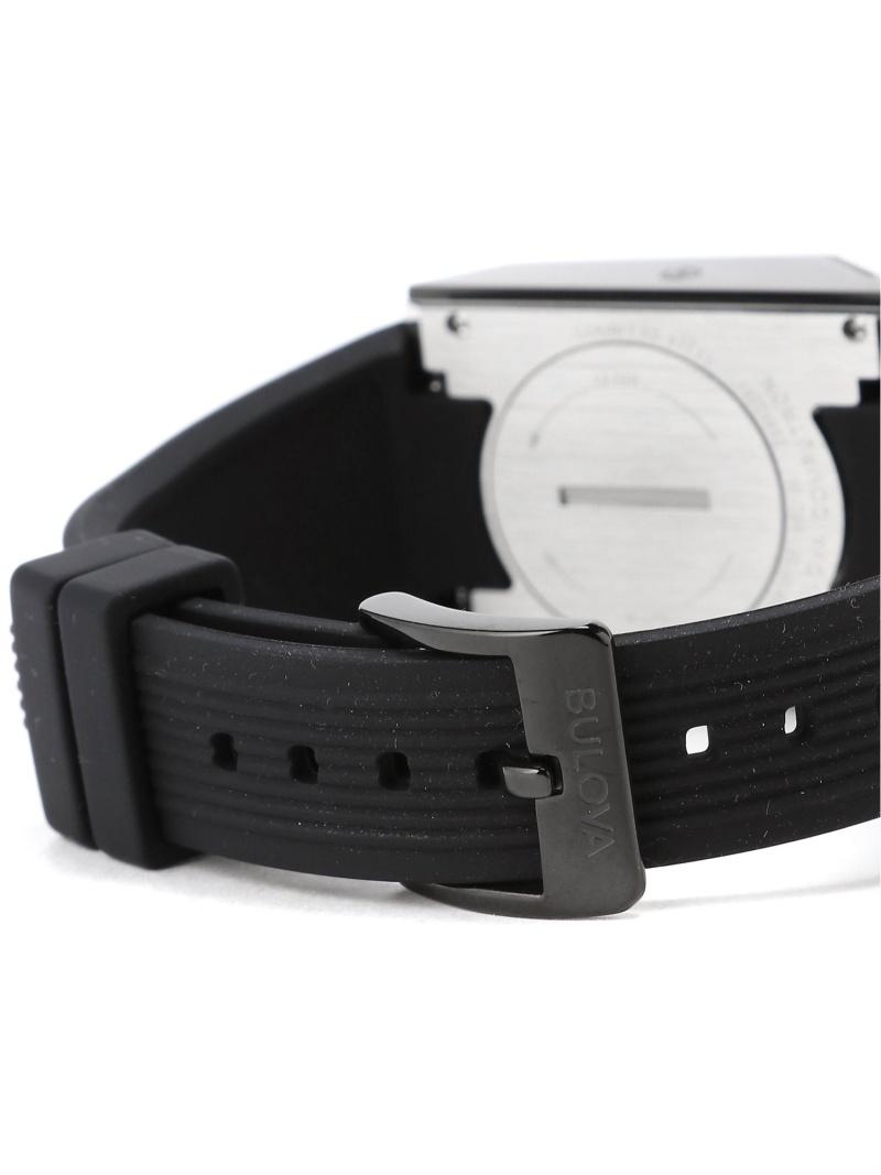 Rakuten Fashion BULOVAArchive Series Computron 98C135 LEDデジタル ウォッチ ブラックBEAMS MEN ビームス メン ファッショングッズ 腕時計 ブラック 送料無料dCsthQr