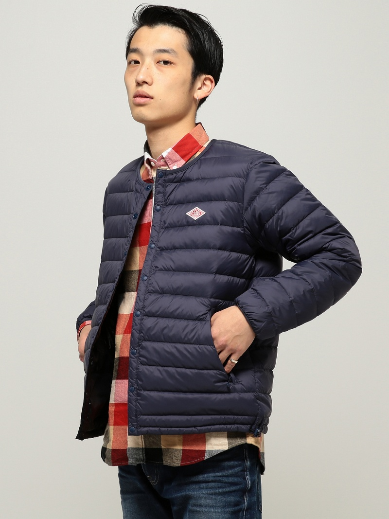 [Rakuten BRAND AVENUE]DANTON / Inner Down Jacket BEAMS MEN ビームス メン コート/ジャケット【送料無料】