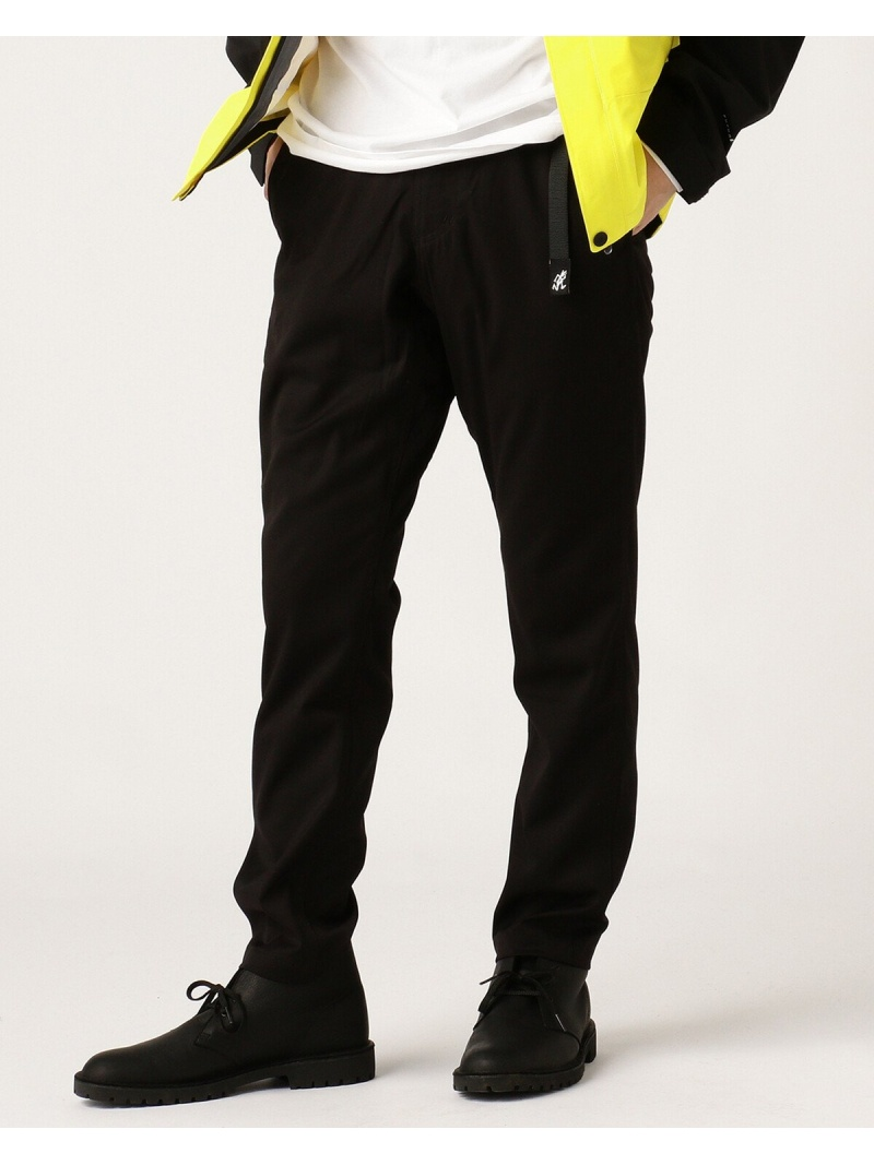 [Rakuten Fashion]GRAMICCI × BEAMS / 別注 スラックス 19FW BEAMS MEN ビームス メン パンツ/ジーンズ フルレングス ブラック グレー ネイビー【送料無料】