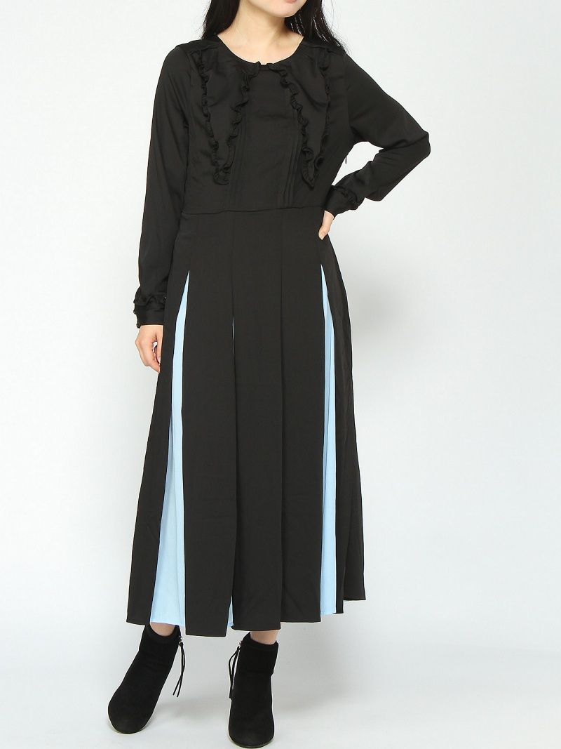 [Rakuten BRAND AVENUE]【SALE/30%OFF】sister jane / Godet Dress ray beams レイビームス シスタージェーン Ray BEAMS ビームス ウイメン ワンピース【RBA_S】【RBA_E】【送料無料】