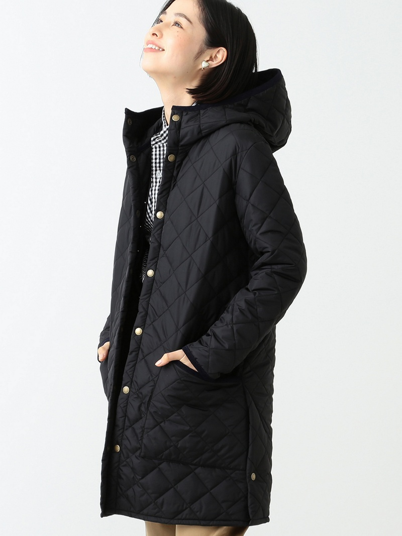 [Rakuten BRAND AVENUE]【SALE/30%OFF】Barbour × BEAMS BOY / 20th別注 Liddesdale Long Hoody バブアー BEAMS BOY ビームス ボーイ BEAMS BOY ビームス ウイメン コート/ジャケット【RBA_S】【RBA_E】【送料無料】