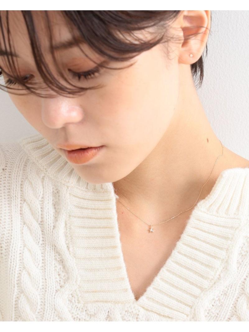 [Rakuten Fashion]Ray BEAMS / K10 ダイヤモンド ウィッシュ ネックレス  Ray BEAMS ビームス ウイメン アクセサリー ネックレス ゴールド【送料無料】