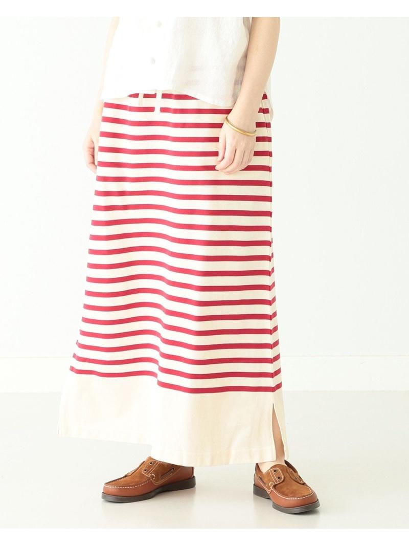 [Rakuten Fashion]BEAMS BOY / ナバル ボーダー スカート BEAMS BOY ビームス ウイメン スカート フレアスカート レッド ブルー【送料無料】