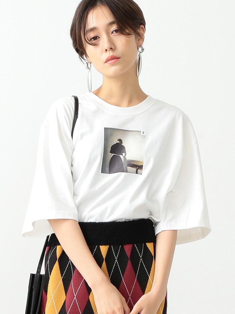[Rakuten BRAND AVENUE]CCRT / No2 EMPTY Tシャツ Ray BEAMS レイビームス ビームス プリントT  ビームス ウイメン カットソー【送料無料】, エドサキマチ:d0bc2068 --- myneeds.jp