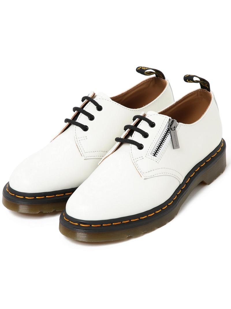 [Rakuten Fashion]Dr.Martens × BEAMS / 別注 SLANTING ZIP 2WAY 3HOLE BEAMS MEN ビームス メン ニット カーディガン ホワイト ブラック【送料無料】