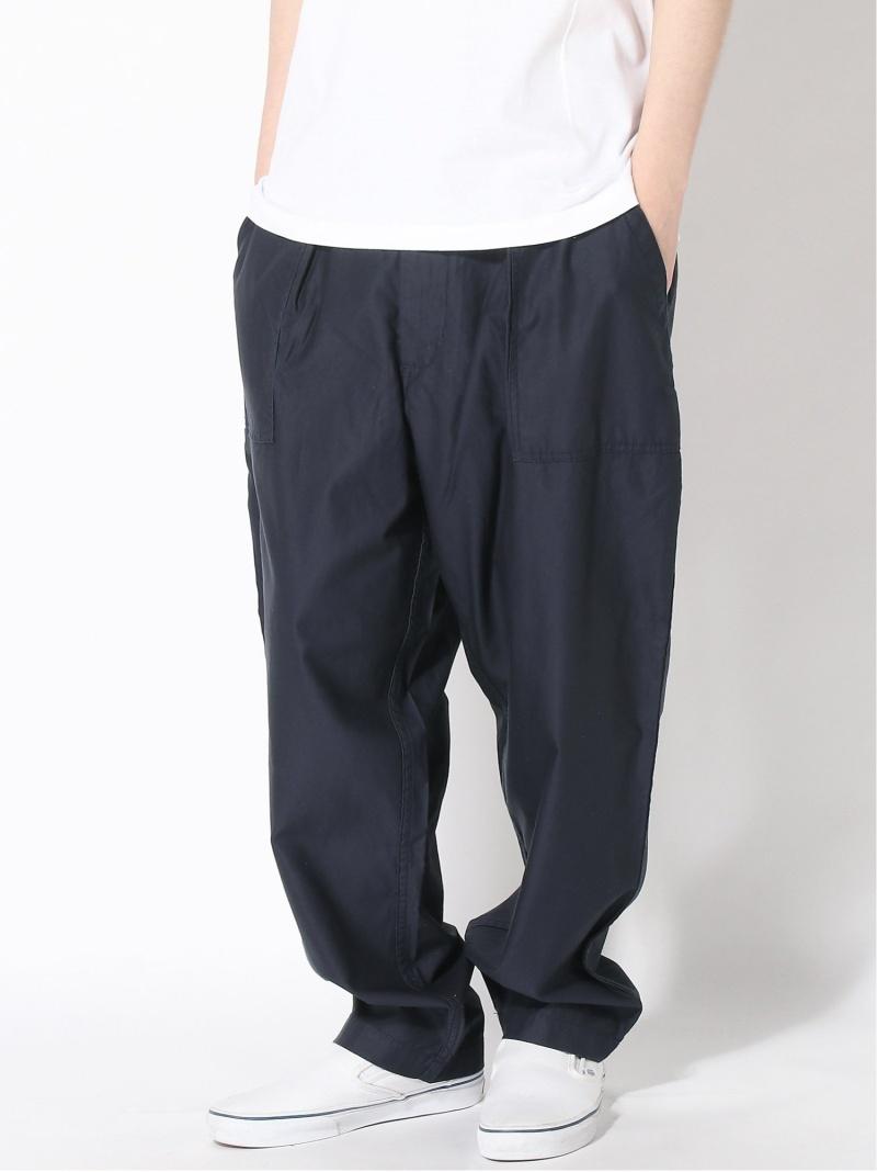 [Rakuten Fashion]BEAMS PLUS / バックサテン ベイカー パンツ BEAMS MEN ビームス メン パンツ/ジーンズ パンツその他 ネイビー グリーン ホワイト【送料無料】