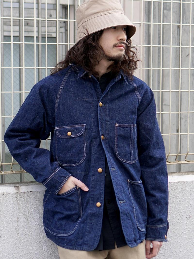 [Rakuten Fashion]orSlow / 1950 カバーオール BEAMS MEN ビームス メン コート/ジャケット デニムジャケット ネイビー【送料無料】