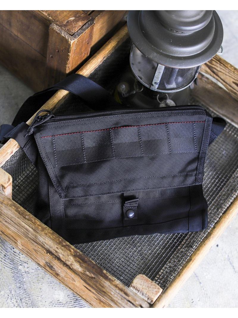 "[Rakuten Fashion]BRIEFING×BEAMS PLUS / 別注 ""Fleet Messenger Bag"" BRIEFING ビームス メン バッグ ショルダーバッグ ブラック【送料無料】"