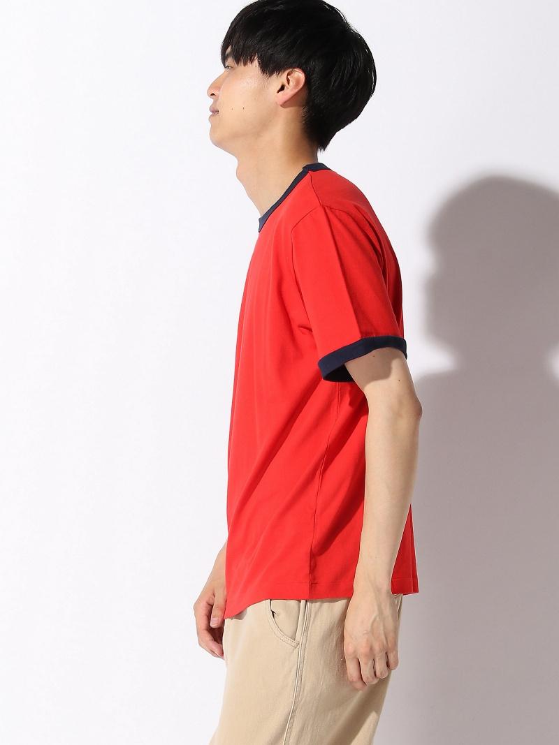 [Rakuten BRAND AVENUE]health knit × BEAMS PLUS / レトロ リンガー クルーTシャツ ビームス メン  カットソー【RBA_S】 BEAMS/ビームス