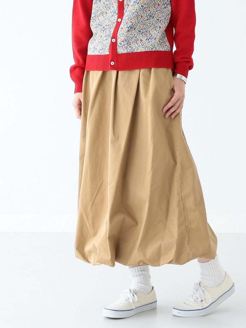 [Rakuten BRAND AVENUE]BEAMS BOY / バルーン ロング スカート ビームスボーイ BEAMS BOY ビームス ウイメン スカート【送料無料】