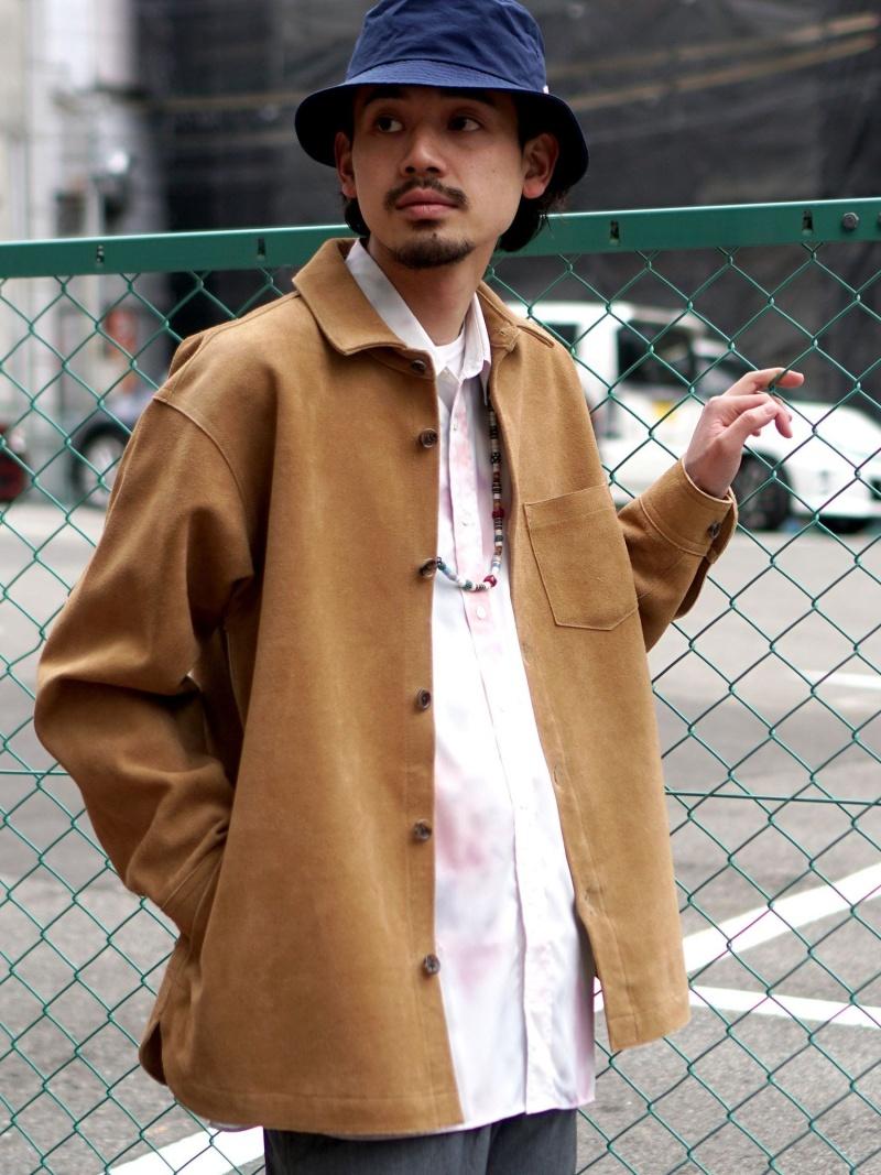[Rakuten Fashion]【SALE/50%OFF】BEAMS / スエード シャツブルゾン BEAMS MEN ビームス メン シャツ/ブラウス 長袖シャツ ブラウン【RBA_E】【送料無料】