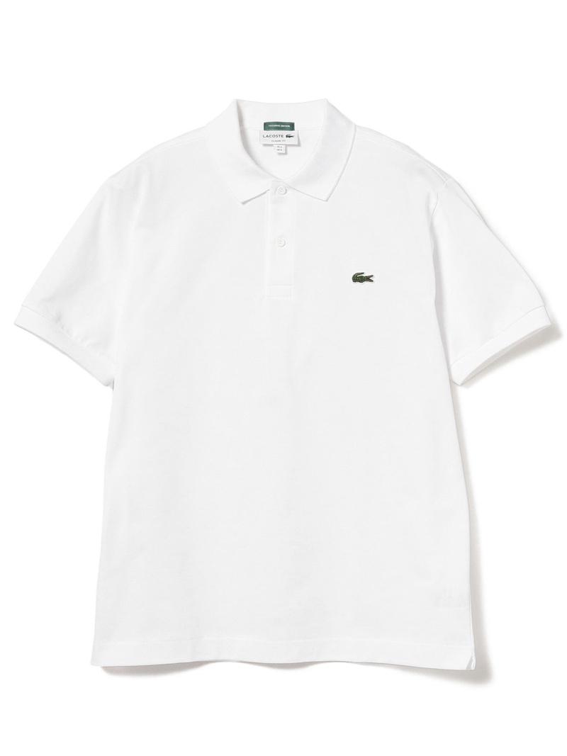 [Rakuten Fashion]LACOSTE × BEAMS / 別注 ポロシャツ BEAMS MEN ビームス メン カットソー ポロシャツ ホワイト ネイビー ブラック【送料無料】