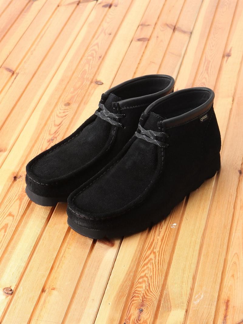 [Rakuten BRAND AVENUE]Clarks / Wallabee Boot GORE-TEX(R) BLACK BEAMS MEN ビームス メン シューズ【送料無料】