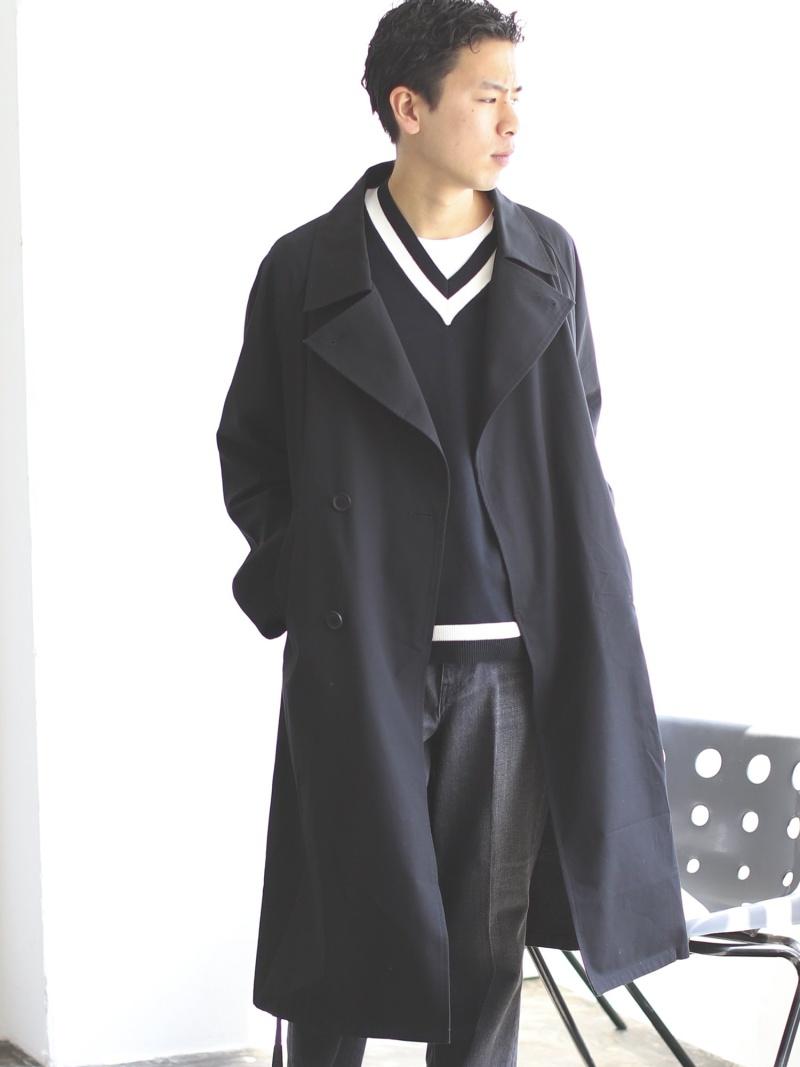 [Rakuten Fashion]【SALE/65%OFF】BEAMS / ルーズ トレンチコート BEAMS MEN ビームス メン コート/ジャケット トレンチコート ベージュ ブラック【RBA_E】【送料無料】