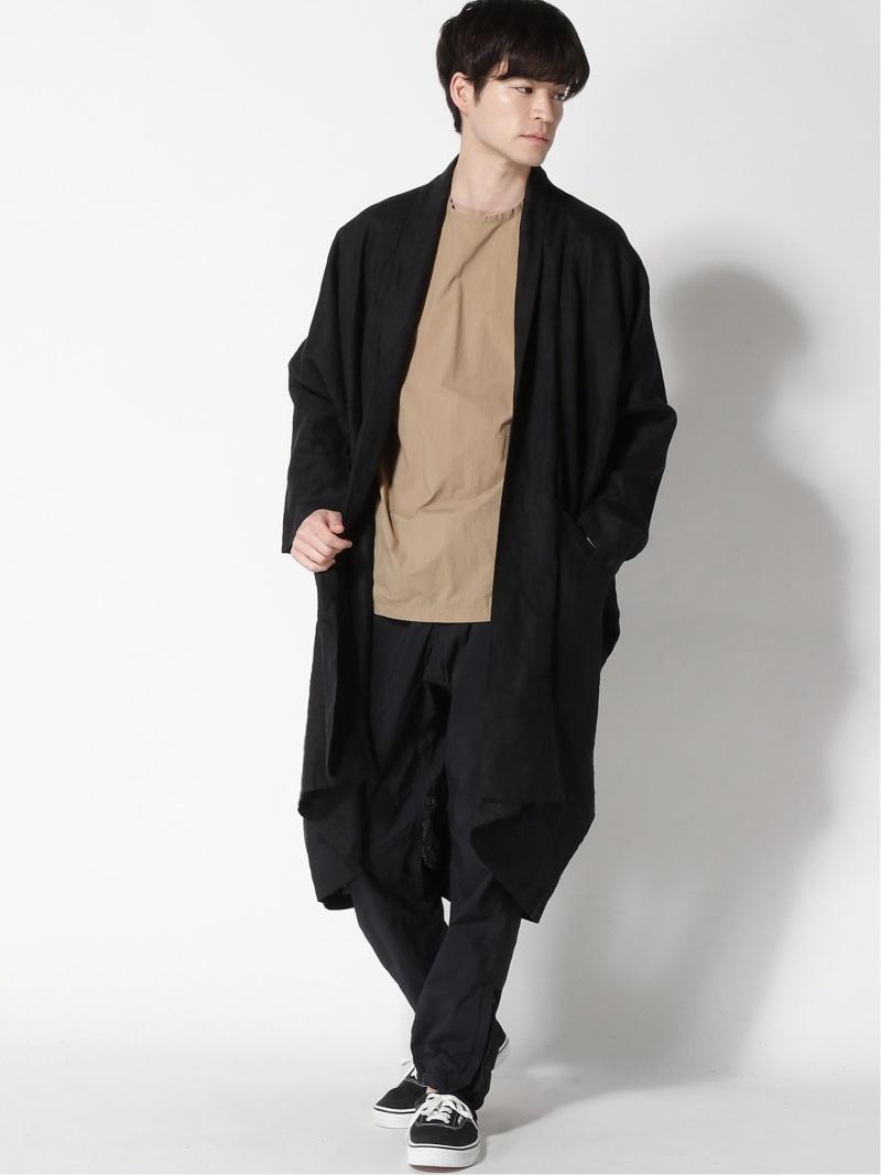 [Rakuten Fashion]ハラダマニア / リネン ケープ BEAMS LIGHTS ビームスライツ コート/ジャケット コート/ジャケットその他 ブラック グレー ベージュ【送料無料】