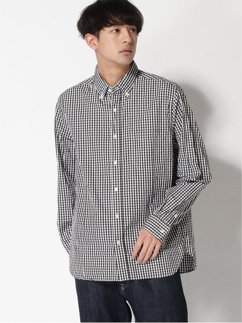 [Rakuten Fashion]BEAMS PLUS / ブロード ギンガムチェック BDシャツ BEAMS MEN ビームス メン シャツ/ブラウス 長袖シャツ ブラック ブルー レッド【送料無料】