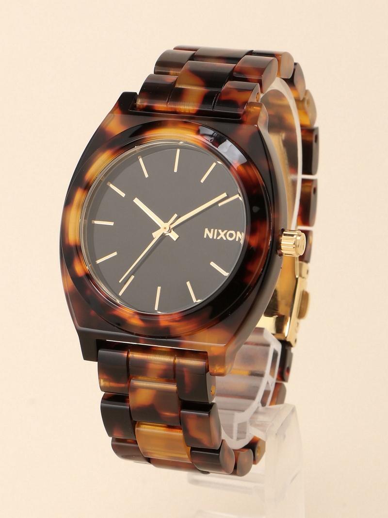 [Rakuten BRAND AVENUE]NIXON / TIMETELLER ACETATE ニクソン タイムテラー 腕時計 ユニセックス ギフト BEAMS BOY ビームス ウイメン ファッショングッズ【送料無料】