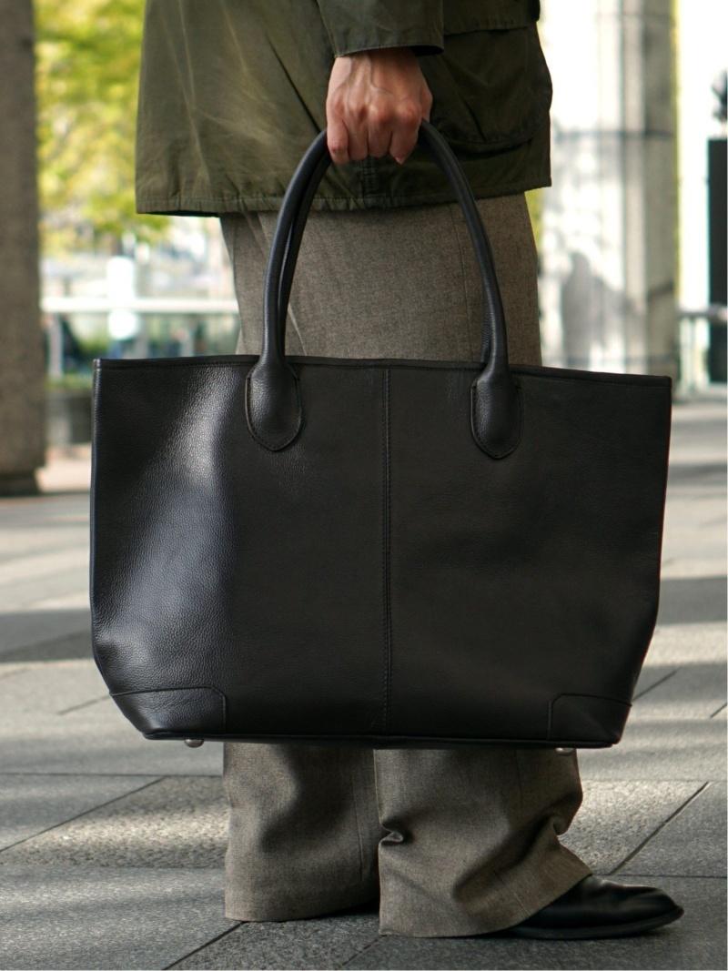 [Rakuten Fashion]BEAMS / ステアレザー トートバッグ BEAMS MEN ビームス メン バッグ トートバッグ ブラック ブラウン【送料無料】