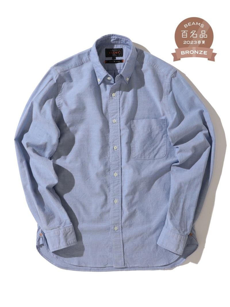 [Rakuten Fashion]B+OX BD L/Sleeve BEAMS MEN ビームス メン シャツ/ブラウス 長袖シャツ ブルー ピンク ホワイト イエロー【送料無料】