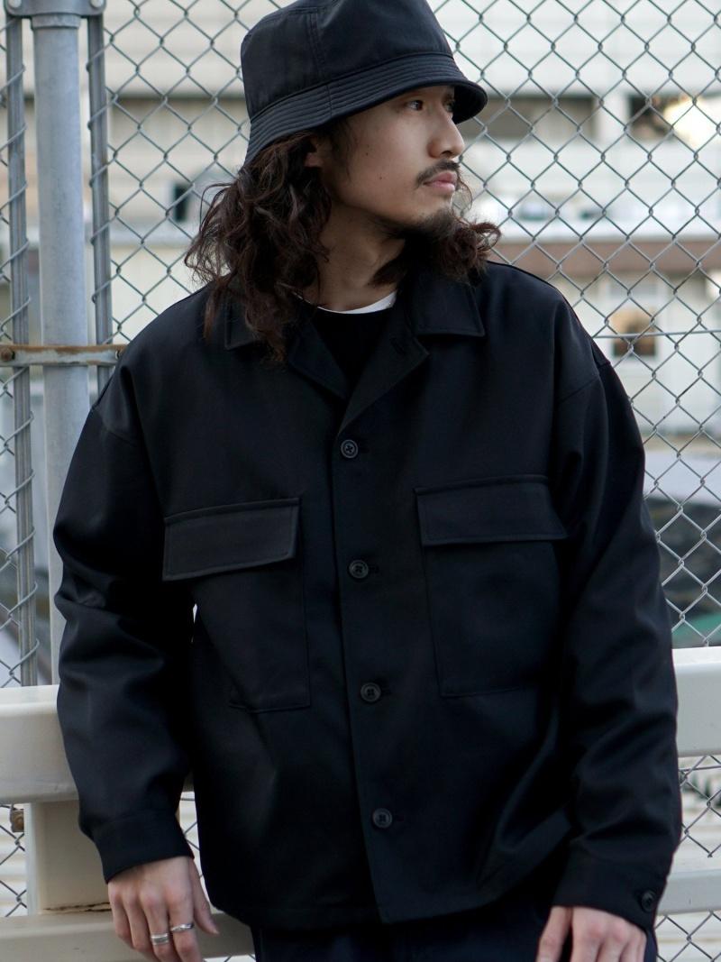 [Rakuten Fashion]BEAMS / ダブルポケット ブルゾン BEAMS MEN ビームス メン コート/ジャケット コート/ジャケットその他 ブラック ブラウン ブルー【送料無料】