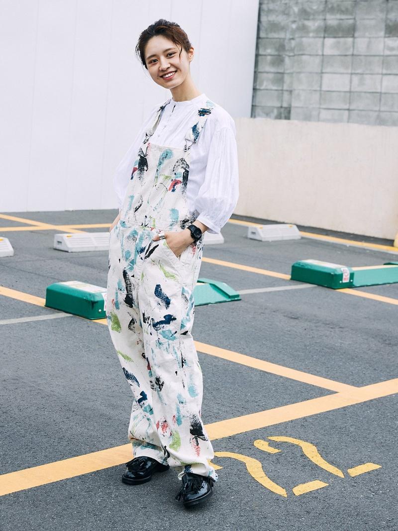 [Rakuten Fashion]orslow × BEAMS BOY / 別注 Overall BEAMS BOY ビームス ウイメン パンツ/ジーンズ サロペット/オールインワン ホワイト【送料無料】