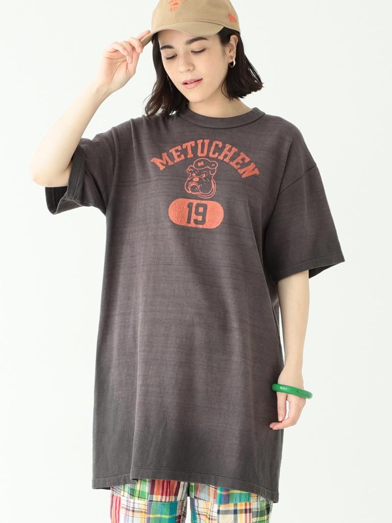 [Rakuten Fashion]WAREHOUSE × BEAMS BOY / ロング Tシャツ BEAMS BOY ビームス ウイメン カットソー Tシャツ ブラック レッド【送料無料】