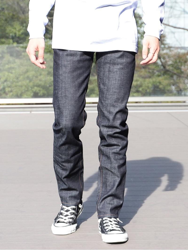 [Rakuten Fashion]BEAMS / ベーシック ストレッチ デニムパンツ BEAMS MEN ビームス メン パンツ/ジーンズ ストレートジーンズ ネイビー ブラック ブルー【送料無料】
