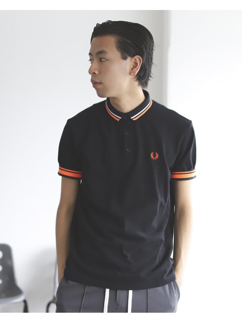 [Rakuten Fashion]FRED PERRY × BEAMS / 別注 チェンジカラー ポロシャツ 20SS BEAMS MEN ビームス メン カットソー ポロシャツ ブラック グレー ネイビー【送料無料】