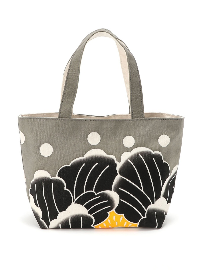 [Rakuten Fashion]大川原染色:トート中 BEAMS JAPAN ビームス ジャパン バッグ トートバッグ グレー ブルー オレンジ【送料無料】