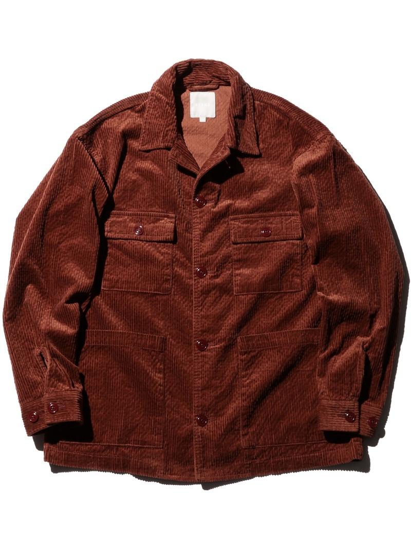[Rakuten BRAND AVENUE]【WEB限定】BEAMS / NEW STANDARD コーデュロイ ワイドシャツジャケット BEAMS MEN ビームス メン シャツ/ブラウス【先行予約】*【送料無料】