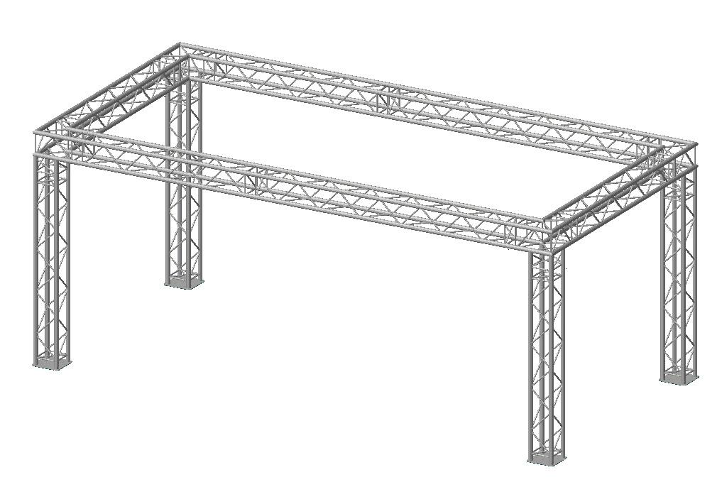 Prolyte Truss プロライト トラス 6m x 3m x 2.5m オランダ製 ビームテック