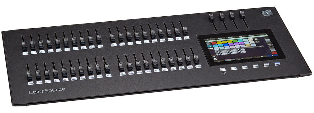 ETC ColorSource 40 DMX 調光卓 ビームテック