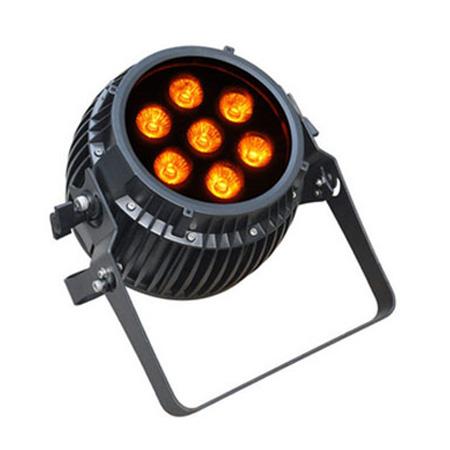 6 in 1 RGBWA UV LED Par dim4テクノロジー IP65 7 x 12W LED ダボ付き バッテリーWireless付き ビームテック