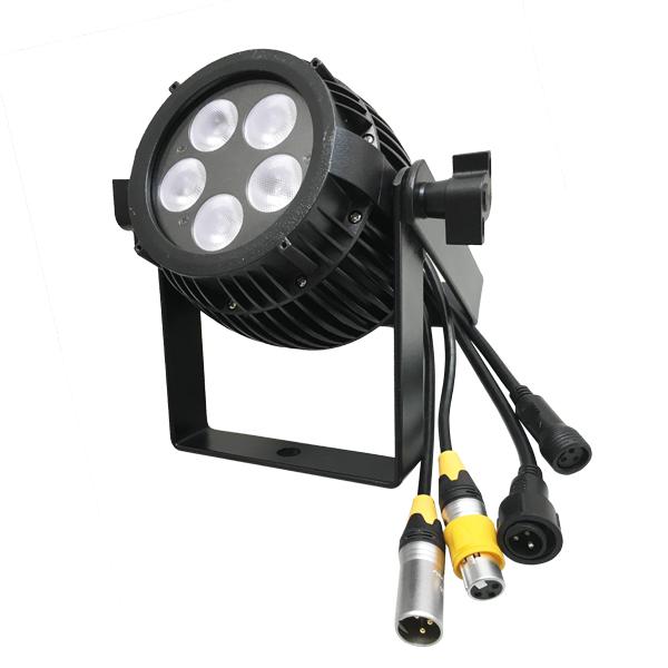 4in1 防滴COLOR mini LED Par 消費電力40W LP0805 RGBW デモ機試用可能 ビームテック