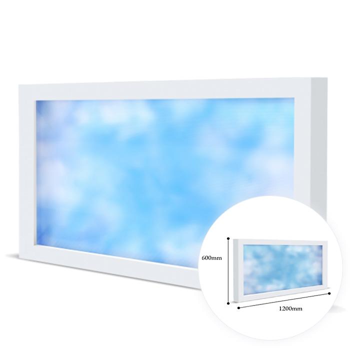 LED シーリングライト 天井照明 太陽光 画期的な天窓LED照明 太陽を作るLED照明 太陽光を浴びて元気になろう 住宅 施設用照明器具 海外限定 実質無料クーポン 配布中 見積もり大幅値引き中 EWINDOW ビームテック 天井 EW2120 120cm 照明 天窓 毎週更新 青空 問い合わせでクーポン発行