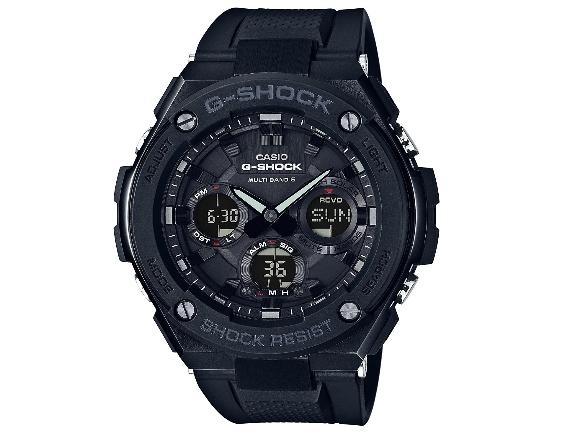 【土日もあす楽対応♪】【送料無料】CASIO G-SHOCK GST-W100G-1BER 電波ソーラー 腕時計 逆輸入海外モデル / カシオ Gショック