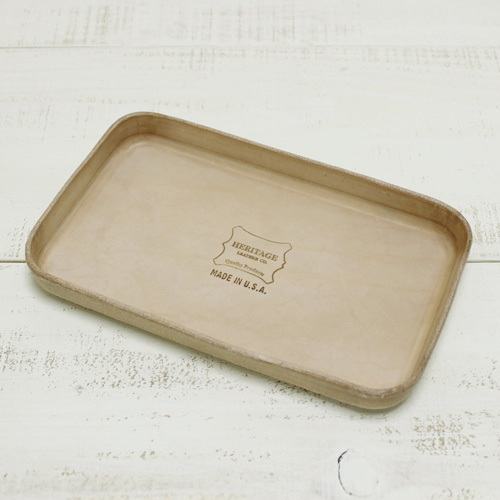 <title>ラッピングOK Heritage Leather Co. Tray maney key acce Natural ヘリテージ レザー トレー マネー 小銭 鍵 時計 アクセサリー 小物入れ インテリア 授与 雑貨 ナチュラル 7543 MADE IN USA アメリカ製 heritage</title>