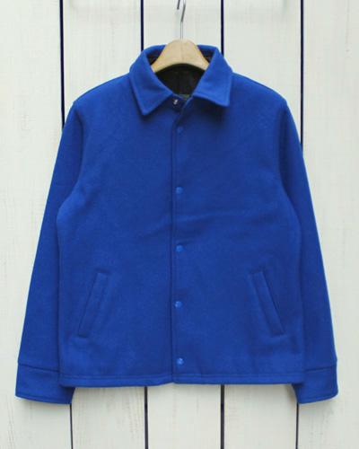 EXPORT LEATHER Melton Coach Jacket / Stadium Award Royal / Wool / made in Canada エクスポート レザー メルトン コーチジャケット / スタジャン ロイヤル ブルー / ウール / カナダ製 export leather