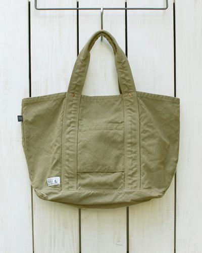 V.D.L.C Standard Tote Bag / unisex Beige overdye ブイディーエルシー スタンダード トート バッグ ユニセックス 帆布 コットン / ベージュ 後染め made in japan 日本製 vdlc キャンバス トート