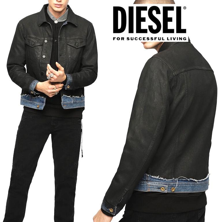 DIESEL ディーゼル メンズ 長袖 デニムジャケットD-CADY 0QATA L/S DENIM JACKETGジャン ブルゾン ワークジャケット