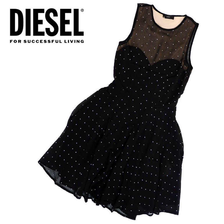 ディーゼル DIESEL レディース ワンピースD-LENE DRESS かわいい かっこいい 海外ブランド インポート ドレス パーティー 二次会