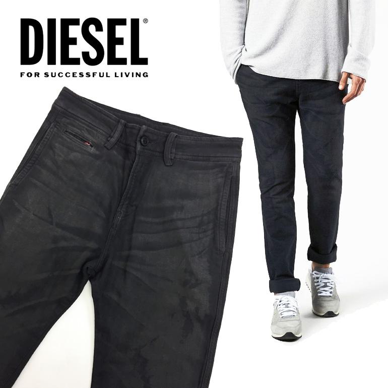 ディーゼル DIESEL メンズ パンツ チノパン  CHI-SHAPLOW PANTALONI 長ズボン ボトムス ストレート カラーパンツストレッチ 伸縮性