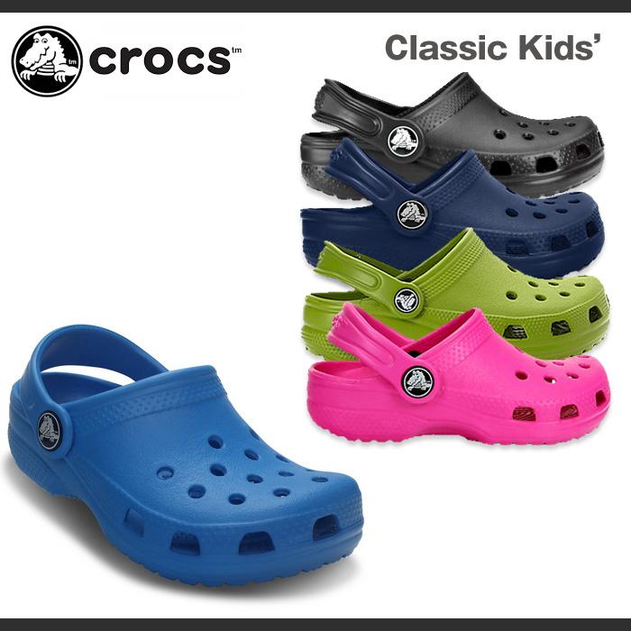 ad7a05574 BEAR FOOT  Crocs kids   classic (Cayman) Crocs Kids   Classic ...