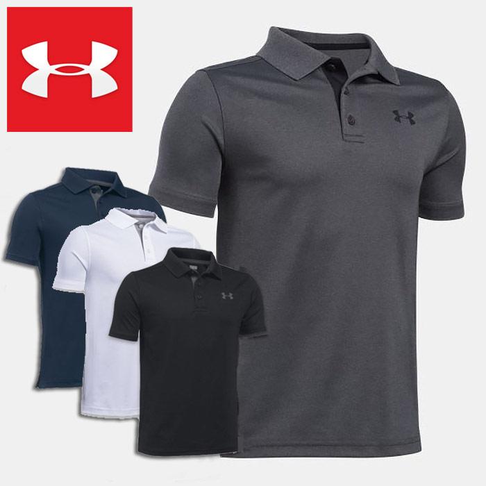 ■メール便発送対象商品 アンダーアーマー ジュニア半袖4WAYストレッチポロシャツ UNDER ARMOUR Polo 公式サイト Boys Golf Sleeve ブランド買うならブランドオフ 1290341 Shirt Short UPF30+