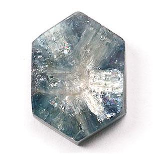 (訳ありセール 格安) 素材として人気 天然石 高価値 宝石 トラピッチェブルーサファイア6.38CT ルース