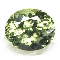 9月27日の誕生日石 テリ強し オリーブの煌き 天然石 宝石 オリーブグリーンサファイア0.84CT 非加熱 ルース 値引き 物品