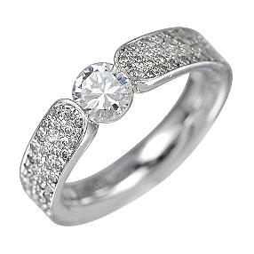 色石 カラーストーン SALE 最新アイテム ダイヤモンドでプラチナや18Kゴールドのジュエリー加工 ジュエリー加工 リフォーム リング Q3751 空枠 0.3~1CT台