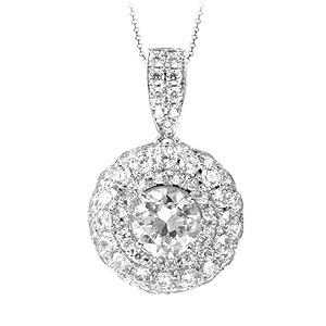 色石 カラーストーン 送料無料 激安 お買い得 キ゛フト ダイヤモンドでプラチナや18Kゴールドのジュエリー加工 ジュエリー加工 リフォーム N4264 有名な 1CT台 ペンダント 空枠 ネックレス