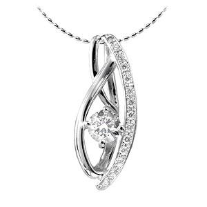 色石 カラーストーン ダイヤモンドでプラチナや18Kゴールドのジュエリー加工 人気ブレゼント ジュエリー加工 リフォーム N4388 ペンダント ネックレス 好評 空枠 0.2~1CT台