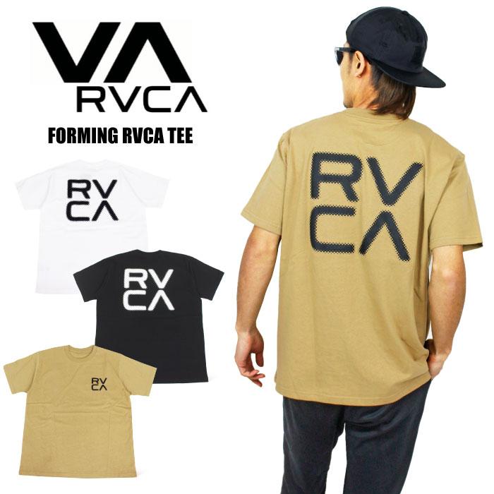 期間限定ポイント5倍 SALE 30%OFF 1点までゆうパケット可能 低廉 ルーカ RVCA フォーミングルーカ 半袖Tシャツ メンズ BB041-202 ストリート カリフォルニア レディース FORMING サーフ 評判 BB041202 TEE